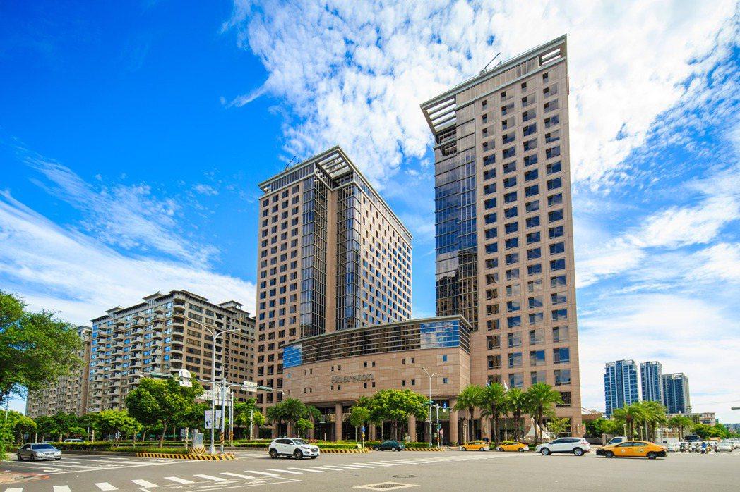 竹北最熱門的燙金地段:喜來登大飯店旁。 業者/提供