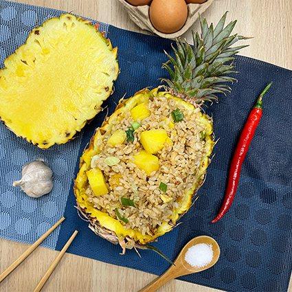 夏威夷炒飯。 Fresh Recipe享廚好食/提供