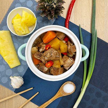 豚燒旺旺來。 Fresh Recipe享廚好食/提供