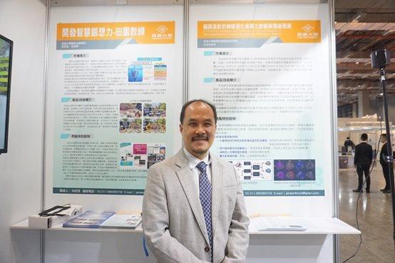 長庚大學醫學影像暨放射科學系王俊杰教授。 楊連基/攝影
