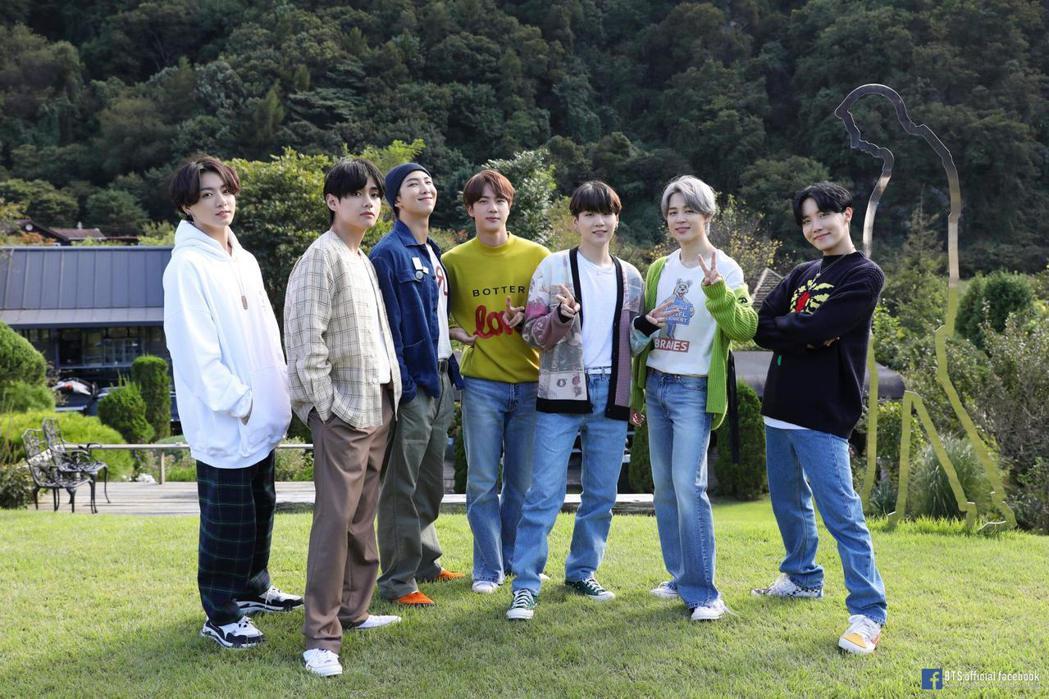 韓團BTS。圖/擷自臉書
