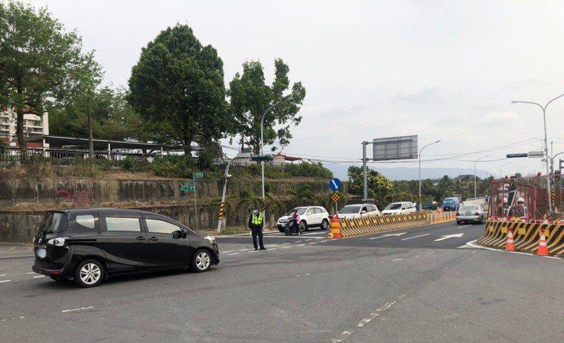 台南玉井大橋改建。記者吳淑玲/翻攝
