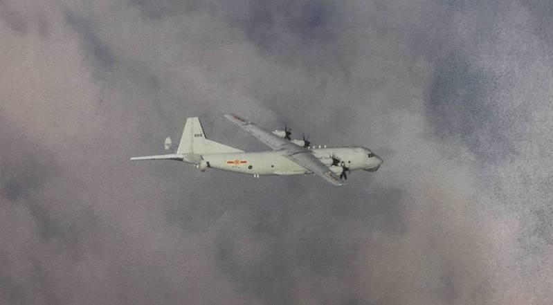 頻繁侵入我西南防空識別區的中共運八反潛機。圖/國防部