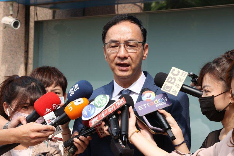 國民黨前主席朱立倫。記者杜建重/攝影