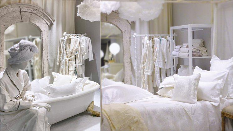 寬庭倉庫推出「白的一百種姿態」主題提案。圖/KUAN'S LIVING寬庭提供