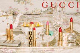 不用先擦護唇膏!Gucci傾色琉光唇膏滋潤顯色新上市