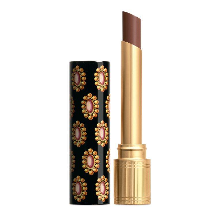 Gucci傾色琉光唇膏 #204 佩綺銅眸,1,300元。圖/Gucci提供