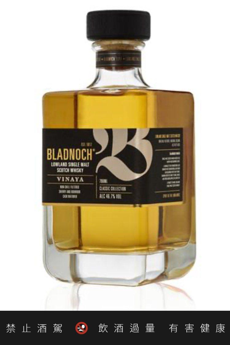 Vinaya是布萊德諾赫最新發行的無年份威士忌。圖/摘自布萊德諾赫官網。提醒您:...