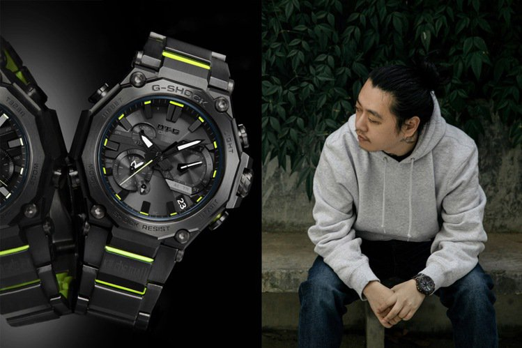 G-SHOCK與中國設計師上官喆創立的時裝品牌SANKUANZ二次聯名。圖/Ca...