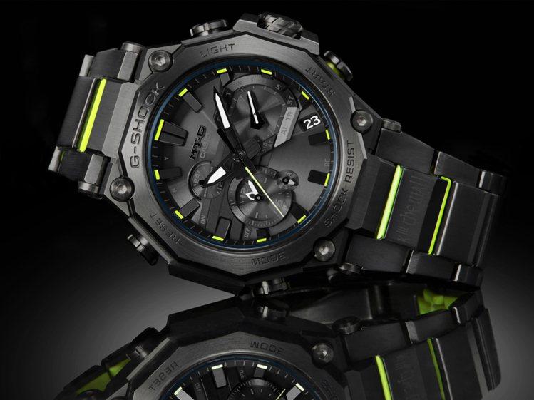 G-SHOCK MTG-B2000SKZ腕表,精鋼表殼、表鍊39,000元。