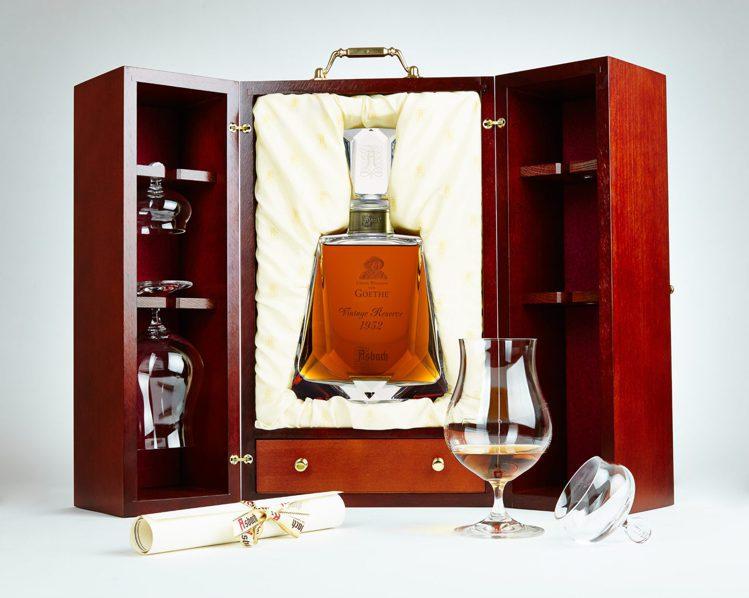 向德國文豪歌德致敬的Asbach 120週年紀念藏酒,全球限量300件,精緻華美...
