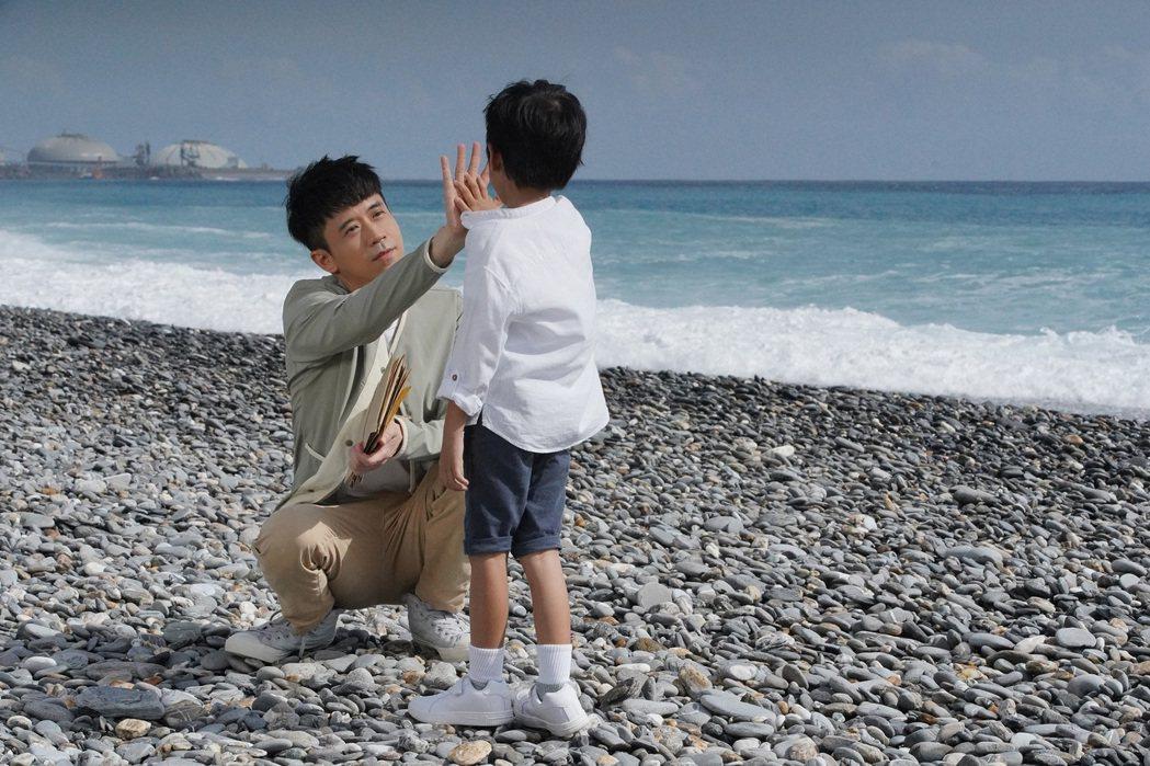 光良自認與小孩互動最難控制。圖/星娛音樂提供
