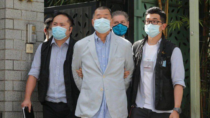 法院裁定壹傳媒創辦人黎智英組織及參與非法集結罪兩項控罪成立。圖/取自觀察者網
