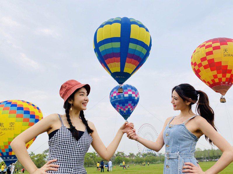 兒童節將至,麗寶樂園渡假區4月2日-11日推出「麗寶熱氣球夢想節」活動。 圖/麗寶樂園提供