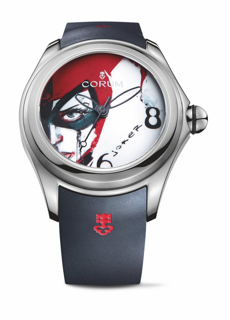 CORUM 泡泡系列Joker腕表,全球限量88只,19萬8,000元。圖 / ...