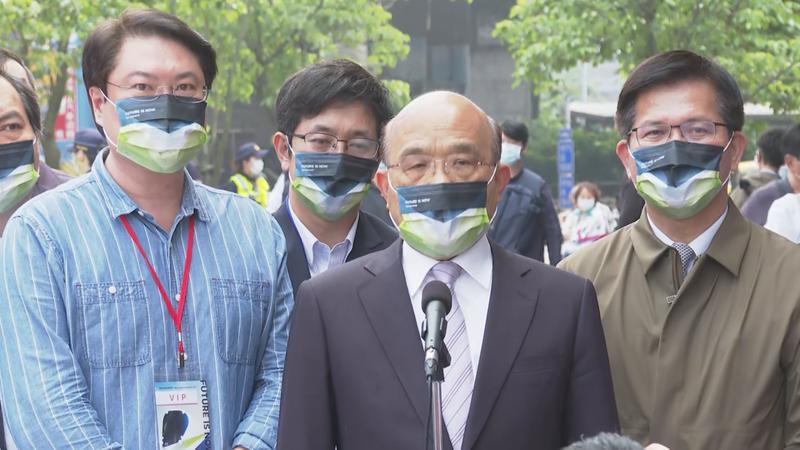 行政院長蘇貞昌表示,核四沒辦法、也不該重啟運轉。記者莊昭文/攝影