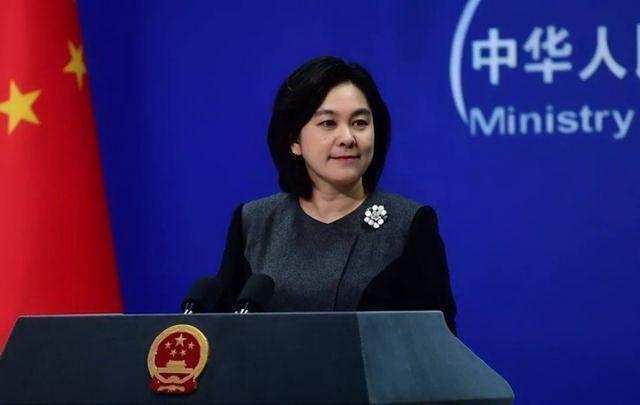 大陸外交部發言人華春瑩。取自大陸外交部官網