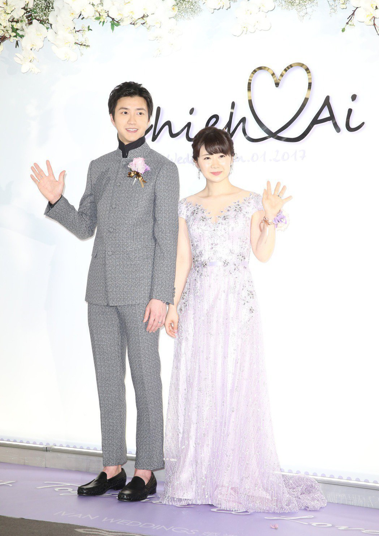 福原愛(左)、江宏傑(右)傳婚變,日媒驚爆兩人正在離婚協議中。圖/聯合報系資料照