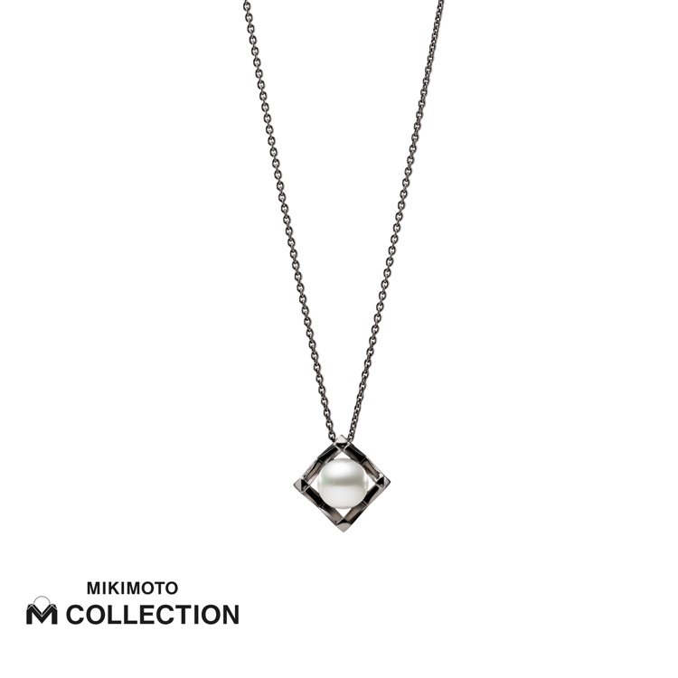 MIKIMOTO M Collection純銀墜鍊,24,000元。圖/MIKI...
