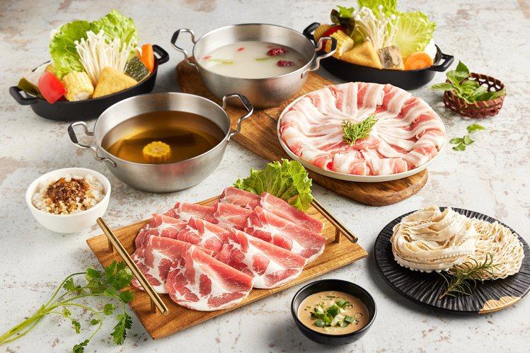肉多多「雲林粉紅豬套餐」。圖/肉多多提供