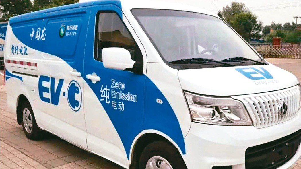 大陸啟動今年新一輪「新能源汽車下鄉」,當中也包括一些商用車型。 網路照片