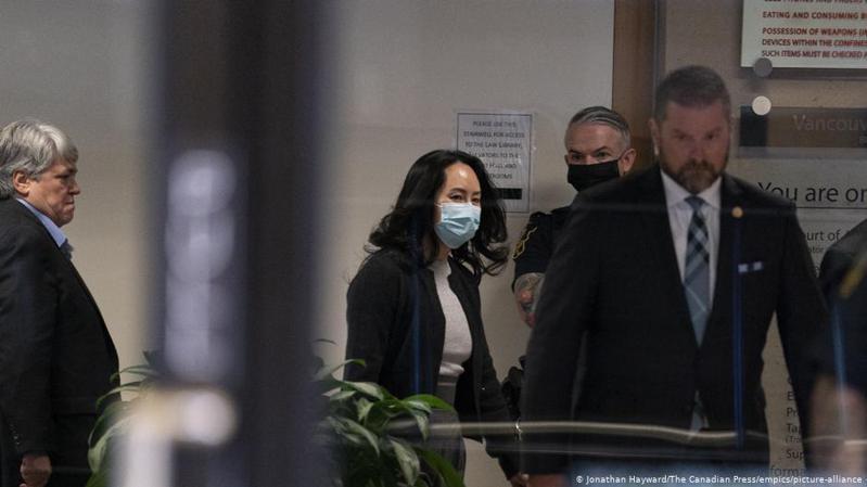 孟晚舟的辯護律師團隊認為,孟晚舟面臨指控的行為發生在香港,因此與美國沒有足夠的實質性聯繫。圖/德國之聲中文網