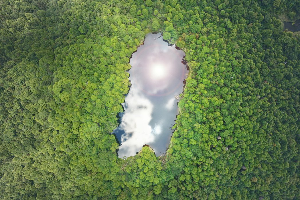 三星池。 圖/小林賢伍攝影
