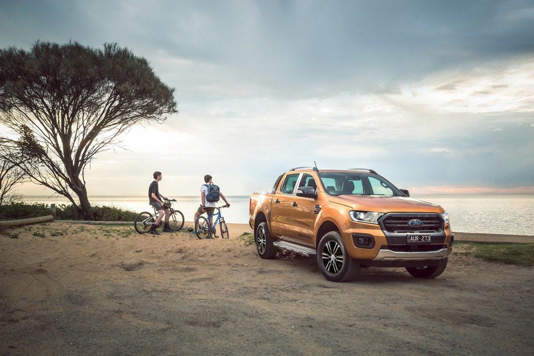21年式Ford Ranger Wildtrak運動型符合歐盟六期法規,充沛優異...