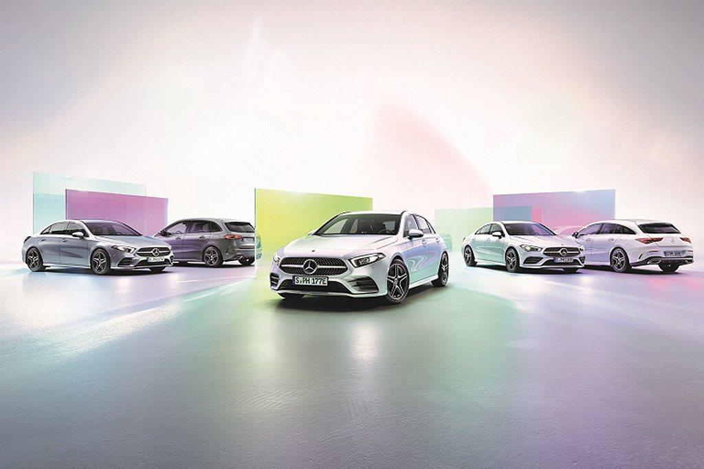 正2021年式賓士NGCC豪華小型全車系標配「智慧駕駛輔助套件」。 圖/Merc...