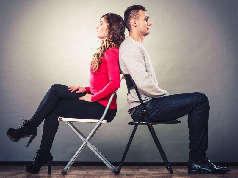 不是每一段感情都能順利走到結束。透過心理測驗,就能知道自己在戀情容易碰到什麼阻礙。圖片來源/ingimage