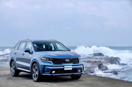 KIA新世代車款熱銷 All-new Sorento奪最佳進口大型SUV
