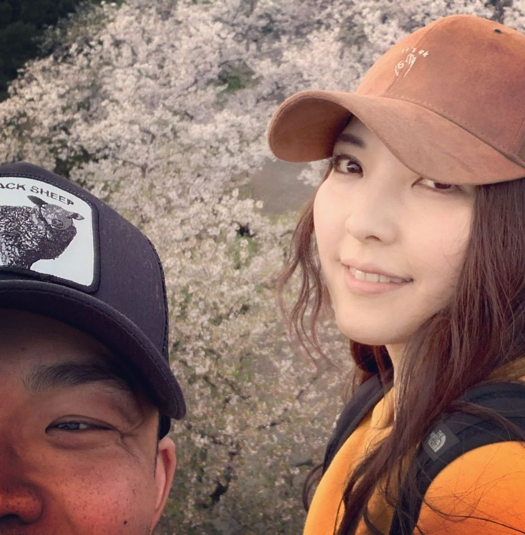 李玖哲與老婆相馬茜已8個月見不了面。圖/擷自IG