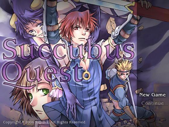 SQDT在2006年的出道作《Succubus Quest》。