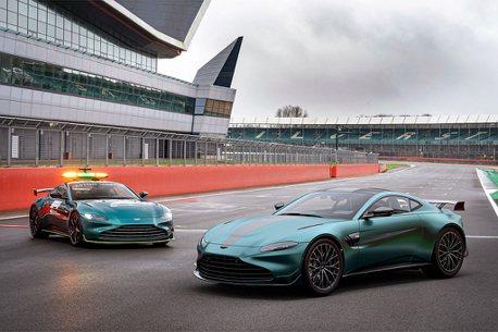 擁有F1安全車的機會來了!Aston Martin Vantage F1 Edition台灣接單引進