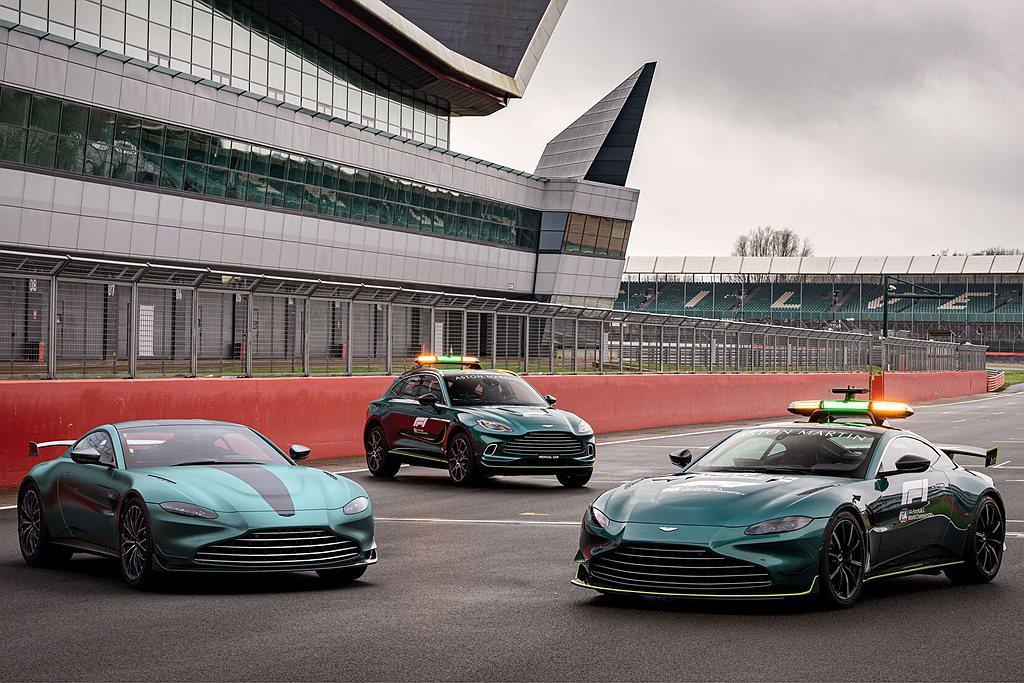 Aston Martin Vantage F1® Edition不僅擁有強大動力...