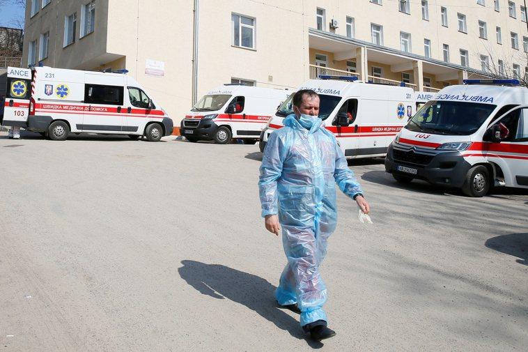 烏克蘭衛生部長史蒂巴諾夫(Maksym Stepanov)今天表示,國內過去24...