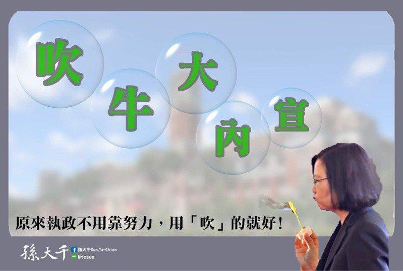 圖/擷自孫大千臉書