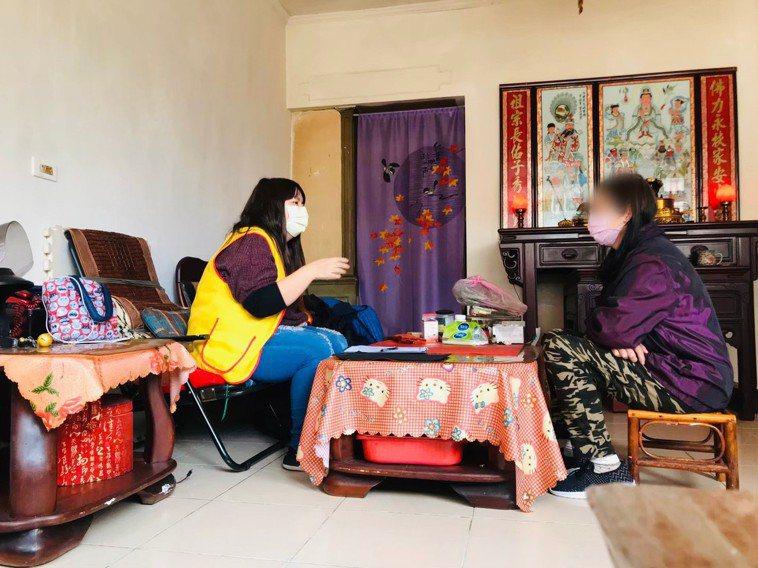 創世桃園院社工張怡婷在社工身障領域已有9年經驗。圖/創世基金會桃園院提供
