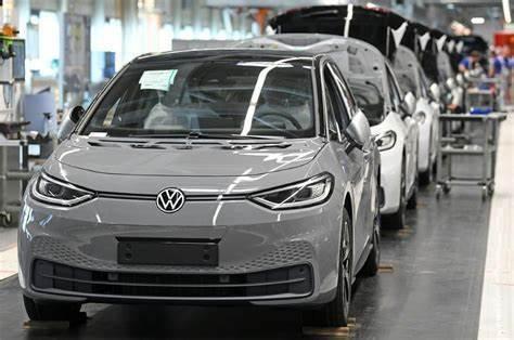大眾汽車(Volkswagen,VW)在中國的合資企業一汽大眾,今年將向特斯拉購買碳積分,這是特斯拉在中國進行的第一筆交易。圖源:網易科技