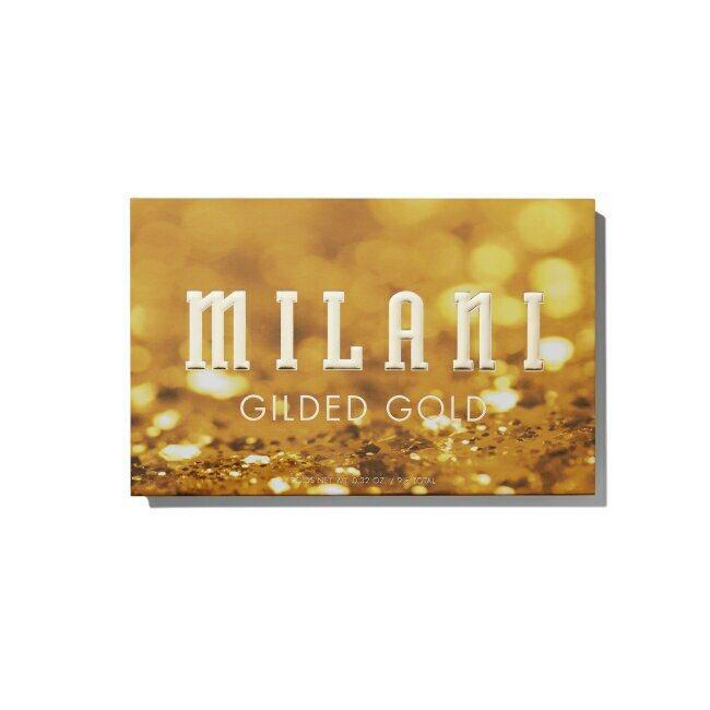 內斂成熟風「乾燥鳳梨花」妝容推薦單品:Milani Gilded Gold流金歲...