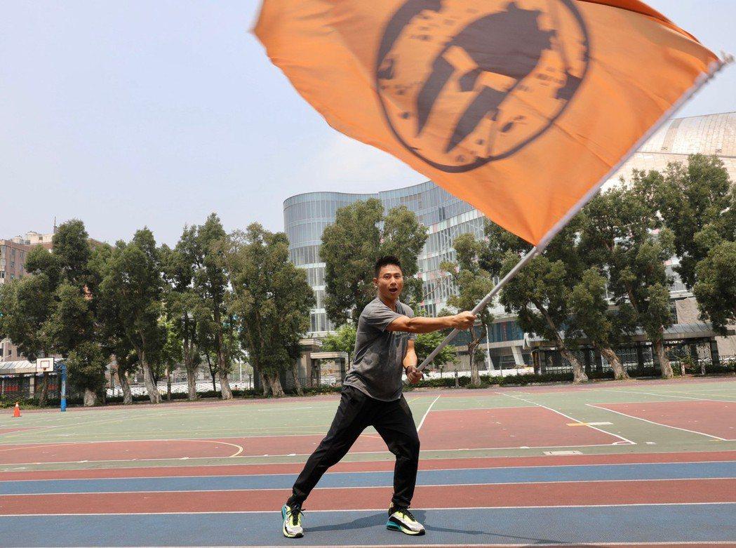 小刀預計下周參與斯巴達障礙賽。記者李政龍/攝影