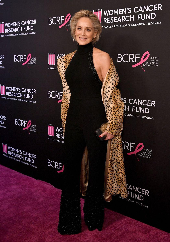莎朗史東是好萊塢資深的性感女神之一。圖/達志影像