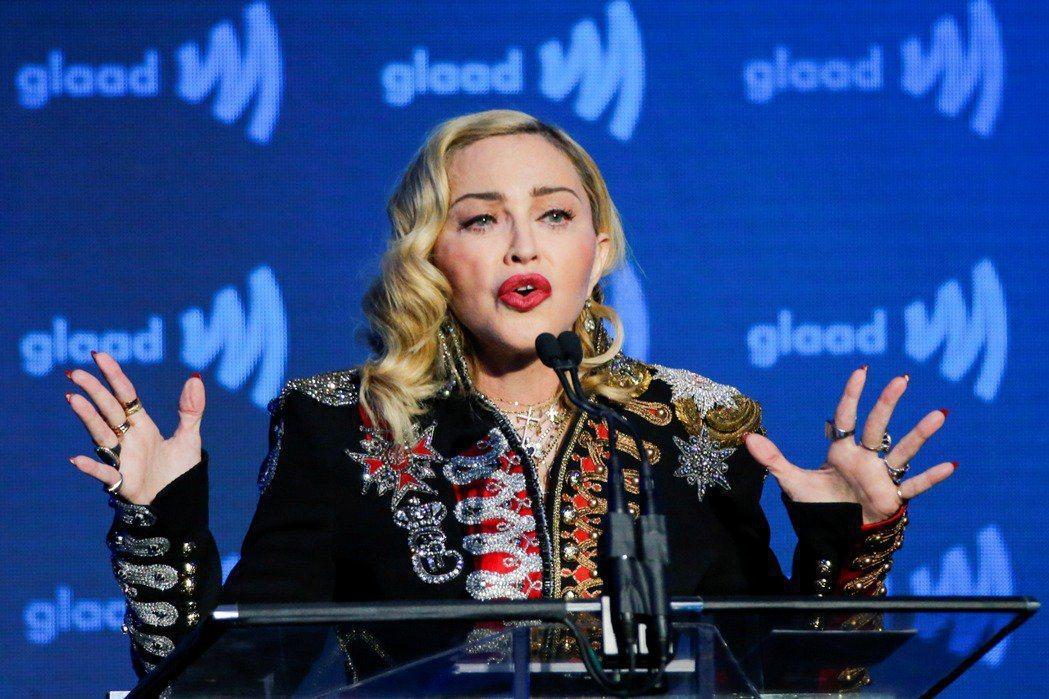 瑪丹娜在樂壇呼風喚雨,屢拍電影,評價票房皆慘敗,仍不死心想拍自傳電影。圖/路透資...