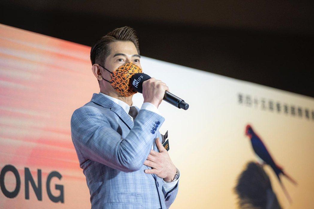郭富城擔任香港電影節國際大使,否認主演電影「風再起時」是受到政治因素撤檔,「因為...