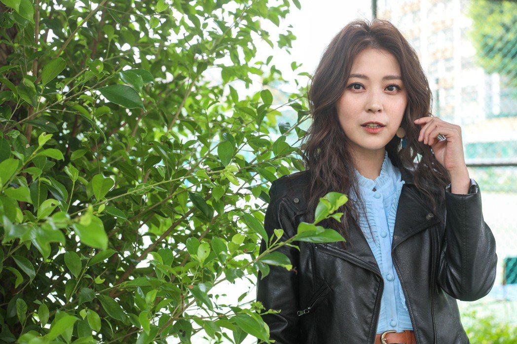 專訪卓文萱舞台劇「情人哏裡出西施」。記者李政龍 / 攝影*