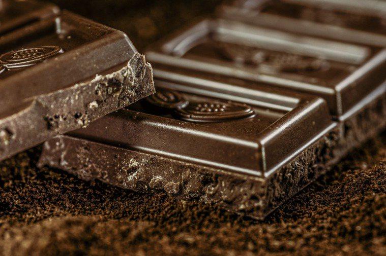 黑巧克力 圖/pixbay