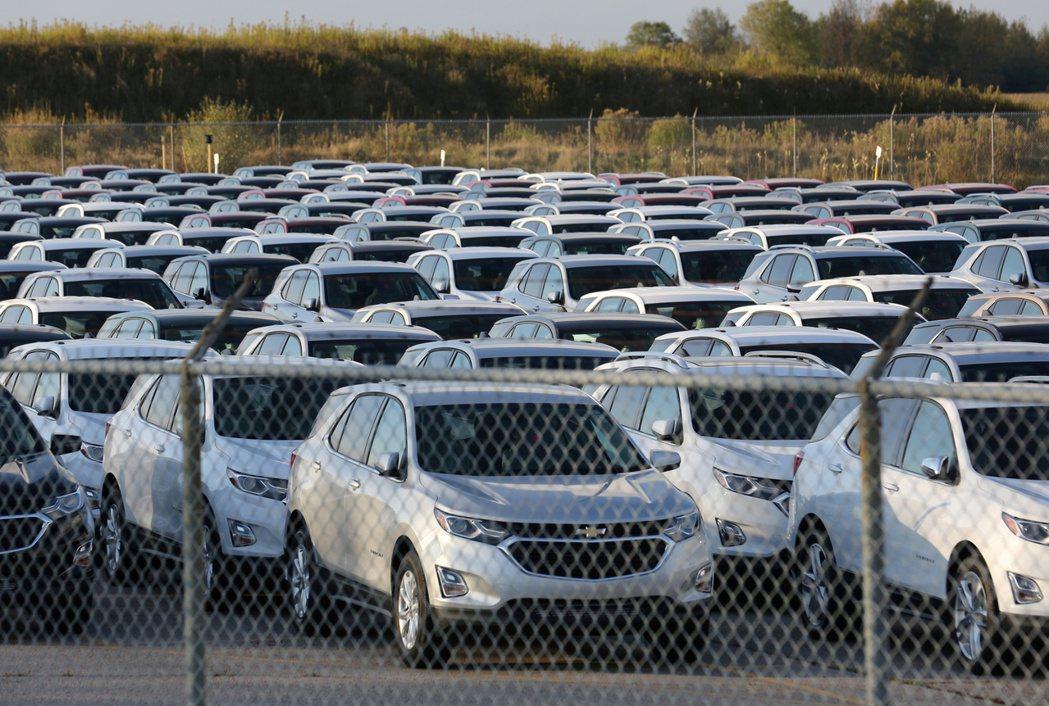 美國3月汽車銷售飆升帶動第1季銷量較去年同期成長。(路透)