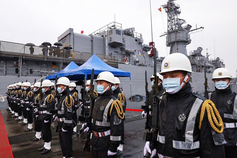 海軍示意圖。 路透社