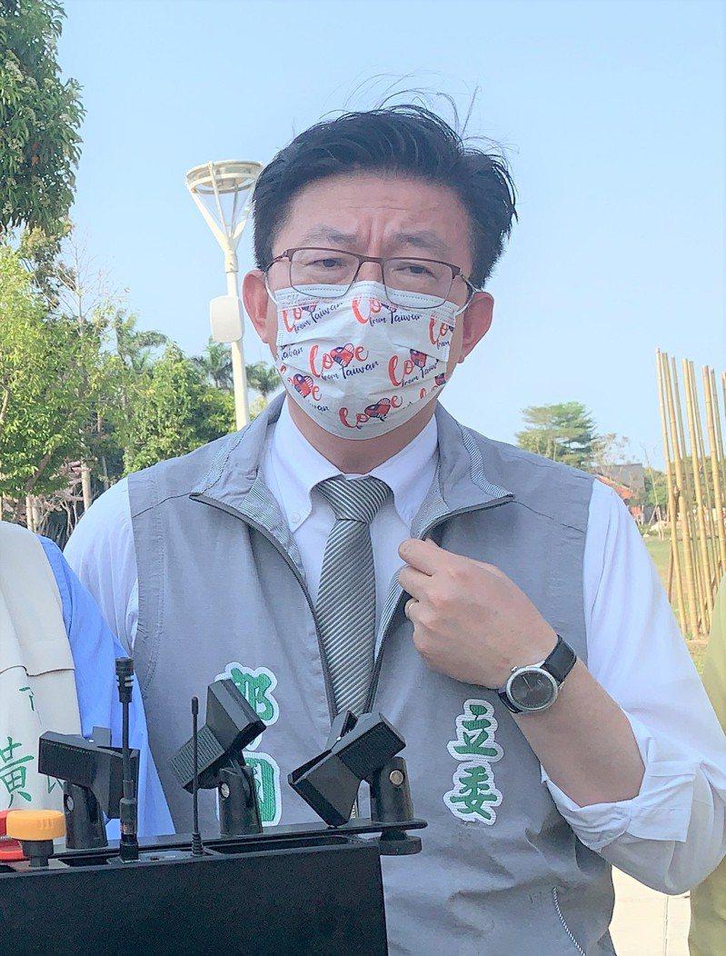 民進黨立委郭國文。記者吳淑玲/攝影