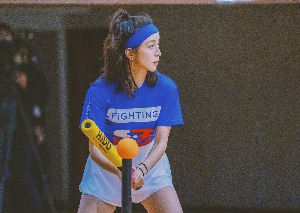 凱莉參加過「全明星運動會」第一季。 圖/擷自凱莉IG
